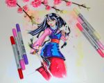 Mulan by Lighane