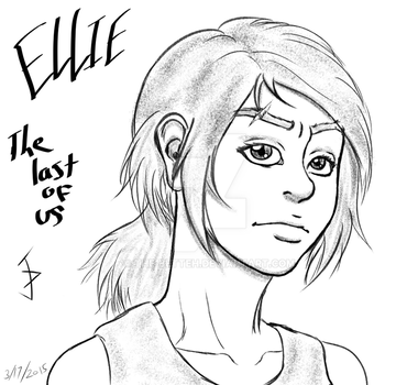 Ellie-The Last of Us by The-Betteh