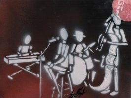 Jazz Stencil by jot-the-grotty