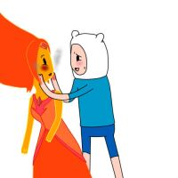 Finn and Flame princess by Alicefantastic