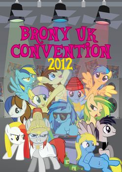Brony UK Convention 2012 by PolygoniCal
