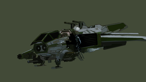 Star Citizen - Hornet vector image by akardo00