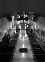 London Underground by icyblush