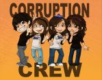 Corruption Crew Chibis by Kinky-chichi
