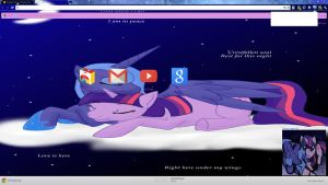 Twilight and Luna, Love is here by Midnight-Page