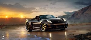 Porsche boxster by SaphireDesign