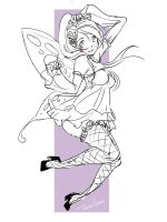 butterfly girl:D by Terytan