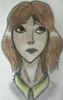 Freckle face by Sno-kee