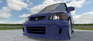 Super Deformed Civic Si by ltla9000311