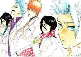 Bleach group by HaitiKage
