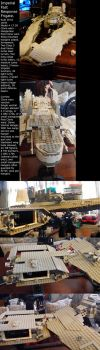 Lego Imperial Ship WIP Update by EmporerXur