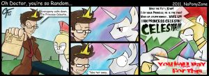 Oh Doctor, you're so random... by NoPonyZone