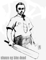 Shaun of the Dead by K-Graham