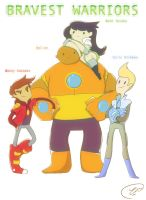 Bravest Warriors FINAL by ChibiGuardianAngel