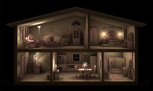 Dollhouse II by caillu