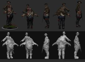Scum High Res model by mindschnapps