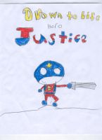 Drawn to life hero:Justice by Nitrox8