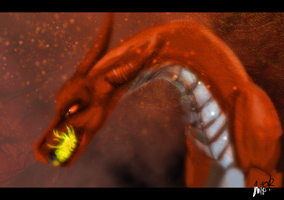 Dragon Speedpaint by Whitelupine