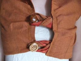 Burnt Orange Waistcoat (2nd view) by sewn-by-honeybirds