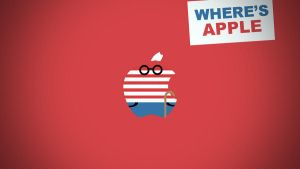 Where's Apple (Wally/Waldo Style) by LindsayCookie