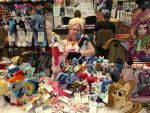 Everfree Northwest Vendor Table Day 1 - 5/12/17 by RubioWolf