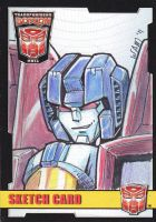 Sketch Card: Starscream by beamer