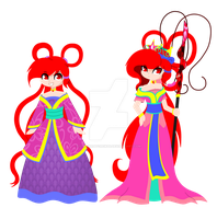 Princess And Queen by strawhatcrew96