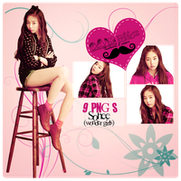 Pack PNG Sohee (Wonder Girls) by GAJMEditions
