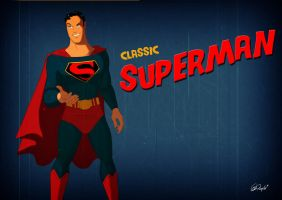 Superman Screensaver by Des Taylor by DESPOP