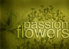 passion flowers 001 by imadawwas