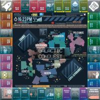 SciFi Monopoly Board by Wes2299