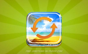 App icon design by junoteamvn