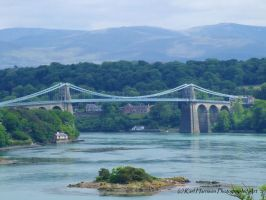 Menai Bridge by KarlsSkies