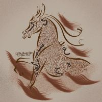 Horse by QandeelLight
