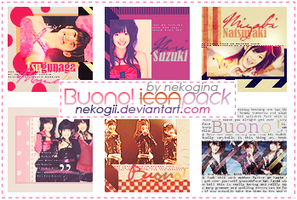Buono - Icon Pack no 1 by Nekogii