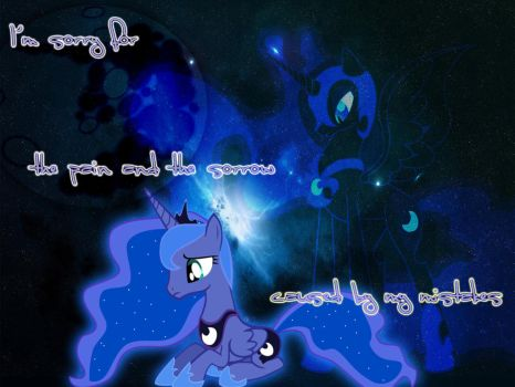 BG My Little Pony FIM Princess Luna by Moonofthedarknight