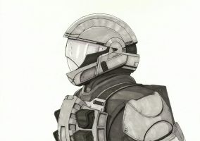 Halo ODST Design by Jbn0s0rus