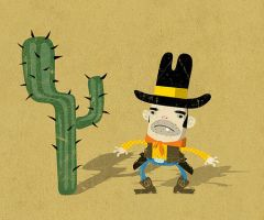 Thumb Cowboy by stuntkid