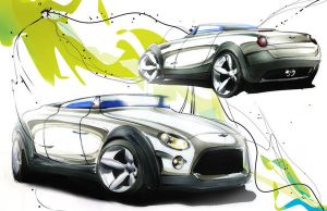 MINI Clubster sketch 3 by Oldspeed