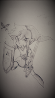 My Link Sketch by CelestialShinigami