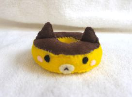 Pudding Cat Doughnut Plush by PinkChocolate14
