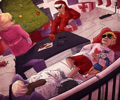 Homestuck Calendar 2013 :: December by Shadizilla