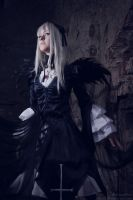 Suigintou. Shattered world 2 by gorlitsa