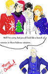 Contest Albion In Ugly Christmas Sweaters by Tinalbion
