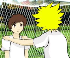 Clyde and Tweek-soccer by josy-style