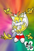 Super Chaos - Tails by cartoonist4eternity