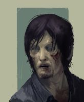 The Walking Daryl by PointLineArea