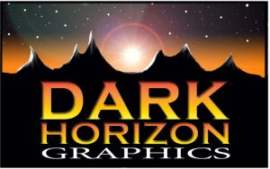 Dark Horizon Graphics logo by GingerAnne
