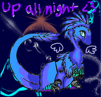Why don't you stay up all night Star? by NeonEternalBlood