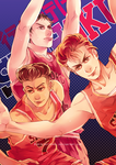 SLAMDUNK: till our arms hurt from posing! by BLACKlbutterfly